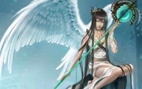 angel, fantasy Фон № 23164 разрешение 1600x1200