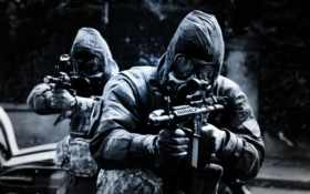 спецназ, оружие, автомат