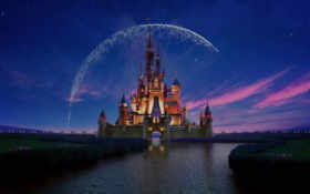 disney, castle, disneyland