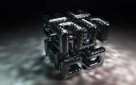 трехмерной, cube Фон № 10197 разрешение 1920x1200