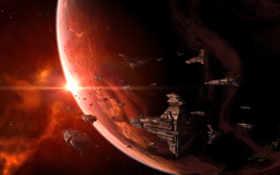 флот, космические