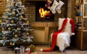 christmas, санта Фон № 13716 разрешение 1920x1200