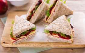 еды, еда, бутерброды