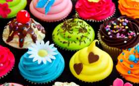 candy, кексы, сладкое