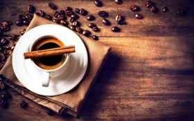 coffee, чашка, карица