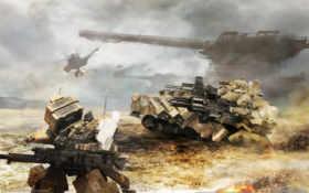 аниме, артиллерия