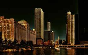 chicago, usa, иллинойс Фон № 67965 разрешение 1920x1200