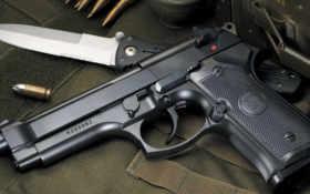 пистолет, патроны