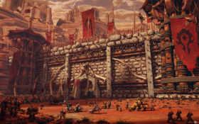 крепость, орда