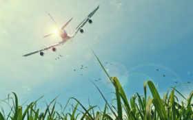 небо, воздушное путешествие