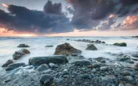 море, берег, камни