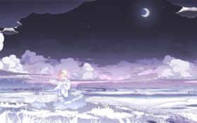 moon, anime