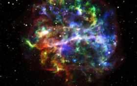 красивых, телескопа