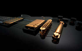 guitar, black