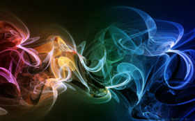 дым, радужный Фон № 25182 разрешение 1920x1200