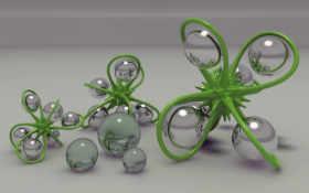 art, шарики, взгляд