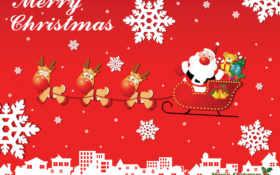 christmas, merry Фон № 31318 разрешение 1600x1200