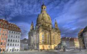 church, германия, dresden