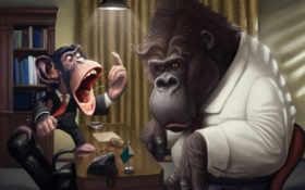 behemoth, обезьяна, cry