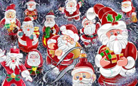 christmas, santa Фон № 13810 разрешение 1920x1200