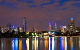 город, австралия