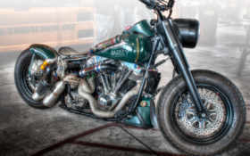 hdr, мотоциклы, кастомайзинг