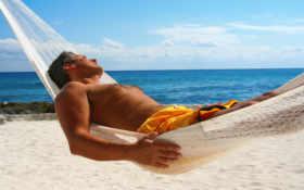 море, мужчина, отдых