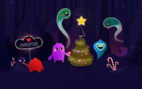 christmas, desktop