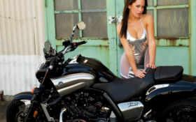 girls, bikes Фон № 14505 разрешение 1920x1200