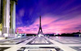 башня, эйфелева, париж Фон № 36356 разрешение 2560x1440