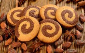 печенье, орехи, bredele, печенье