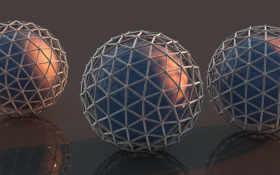 шары, digital Фон № 20418 разрешение 2560x1600