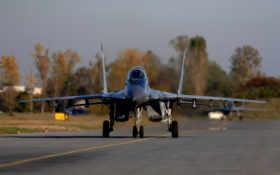 истребитель, многоцелевой Фон № 21315 разрешение 2560x1600