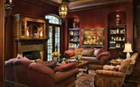 гостиной, интерьер, красивый