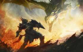 дракон, scrolls