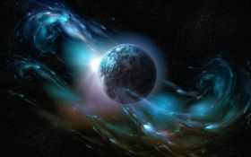 earth, space Фон № 17520 разрешение 1920x1200
