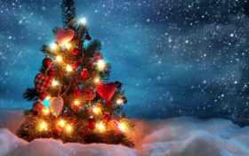 christmas, tree Фон № 28142 разрешение 1920x1080