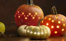 halloweenтыквы