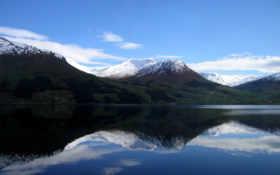 озеро, горы Фон № 7914 разрешение 1600x1200