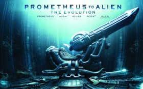 prometheus, alien, чужой