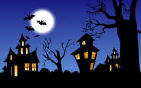 halloween, desktop Фон № 7300 разрешение 1600x1200
