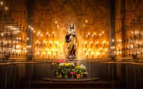 мэри, virgin, статуя