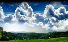 облака, природа Фон № 9041 разрешение 1920x1200
