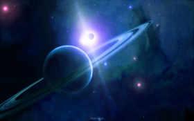 планета, космос Фон № 17441 разрешение 1920x1200