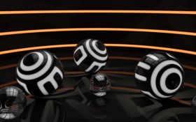 шары, black