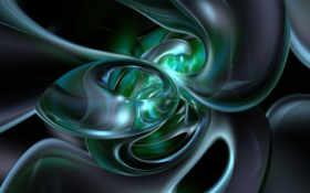 green, blue