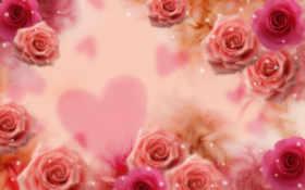 цветы, розы Фон № 15859 разрешение 1920x1200