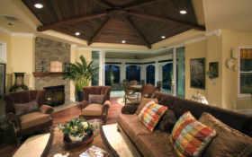 деревянные, потолки