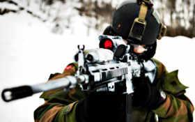 стрелок, оружие Фон № 21708 разрешение 2560x1515