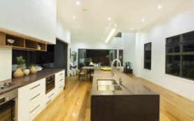 kitchen, narrow, кухня